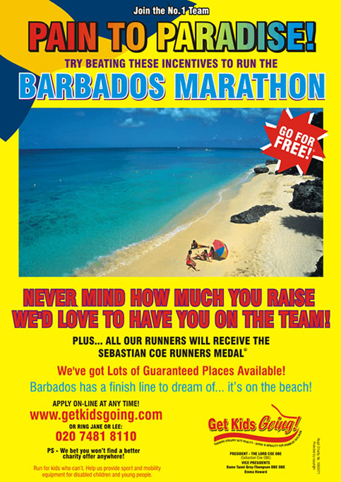 We have hundreds of guaranteed entry places available for the Barbados Marathon 2008 just waiting to be filled!