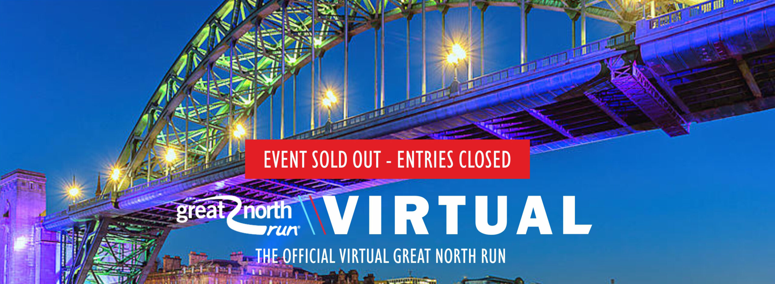 Virtual Great North Run - Applications closed