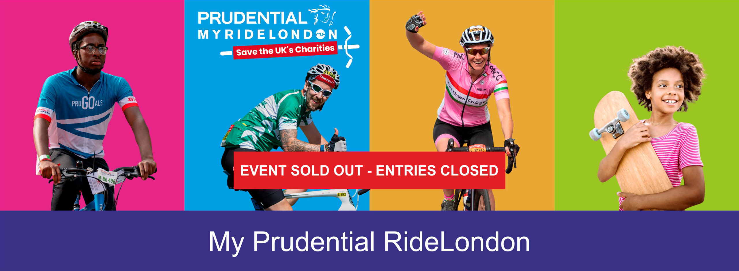 Virtual Ride London - Applications closed