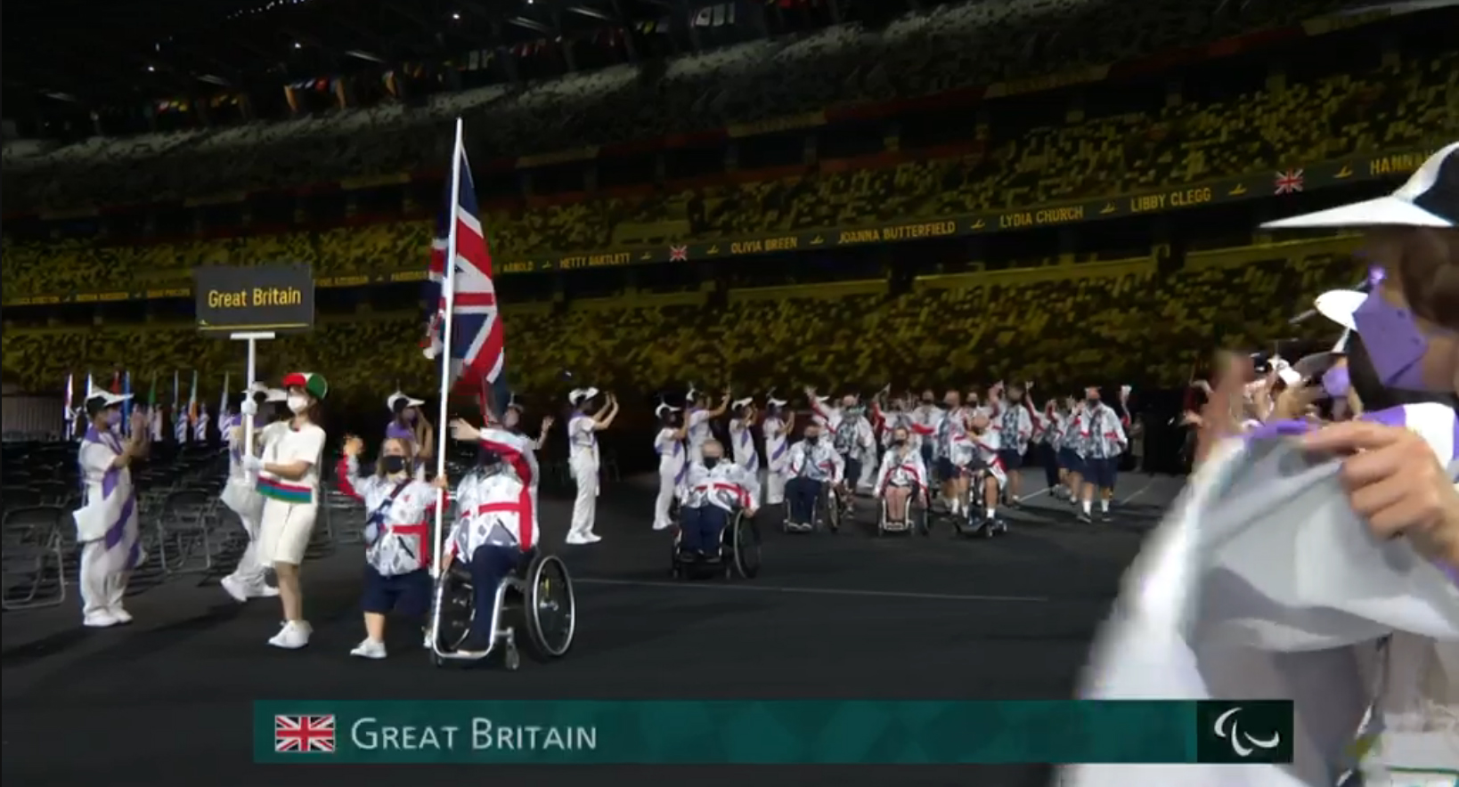 Visit this page to hear all about our Paralympic athletes in Tokyo
