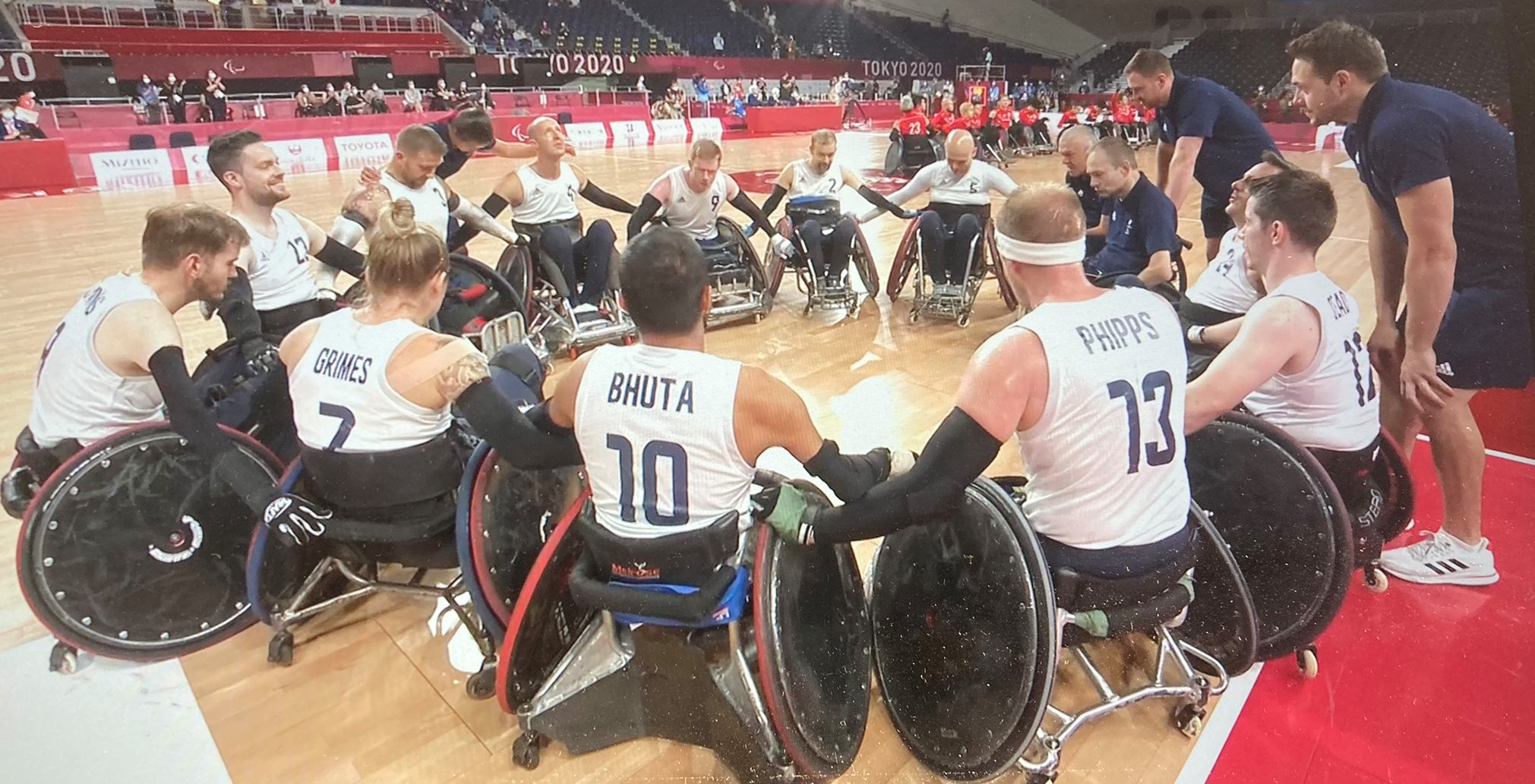 Great Britain Wheelchair Rugby Team reach first Paralympic final