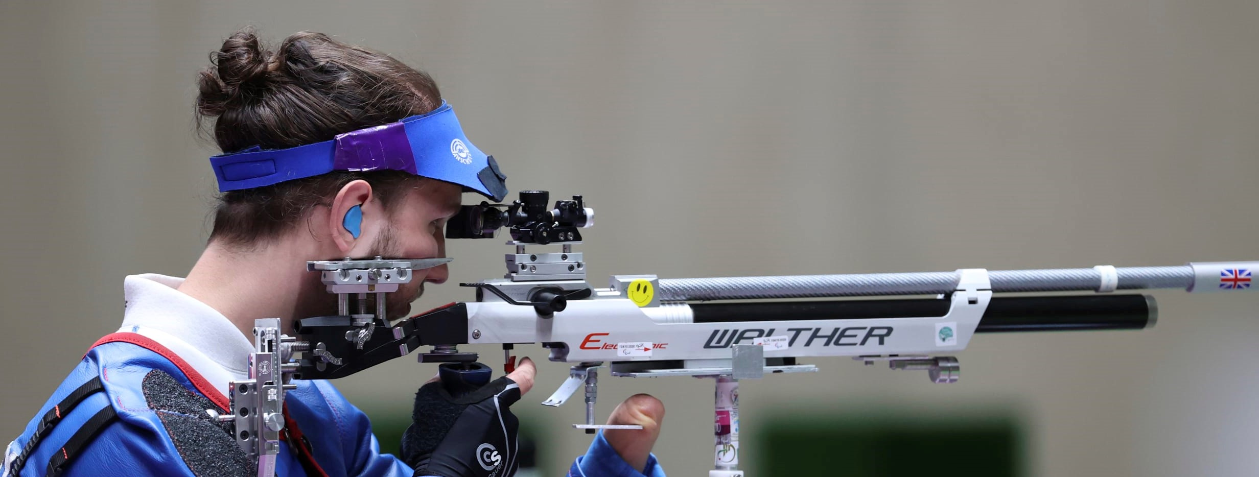 Get Kids Going! supported athlete Tim Jeffery reaches Paralympic finals in shooting