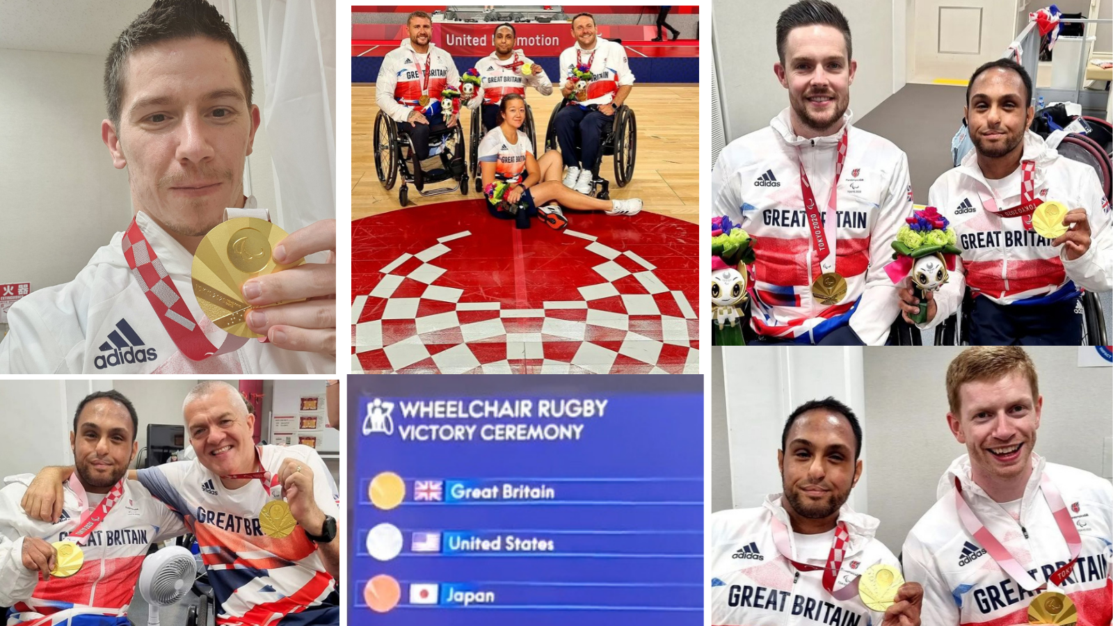 Great Britain Wheelchair Rugby Team make history and win Gold medal at Paralympics