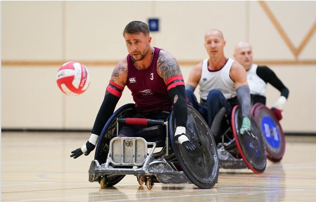 Great Britain Wheelchair Rugby Team win their first game in Tokyo Paralympics
