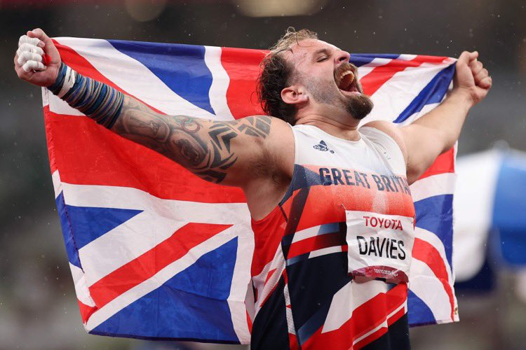 Aled Davies wins his third consecutive Paralympic gold for shot put