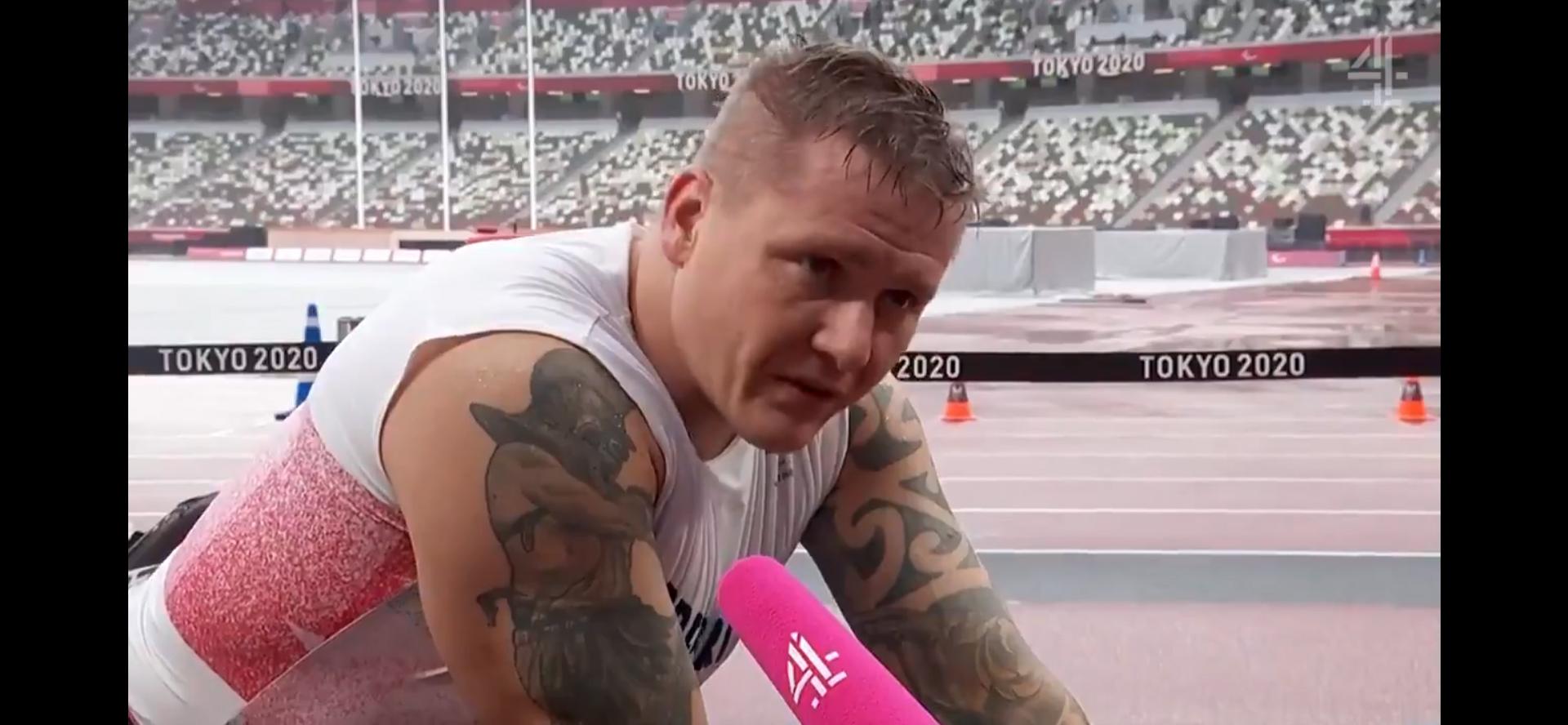 Get Kids Going! president David Weir after Tokyo Paralympics
