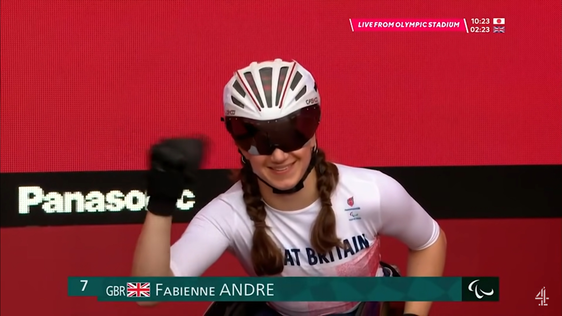 Best of luck to Get Kids Going! supported athlete Fabienne Andre for her first Paralympic games