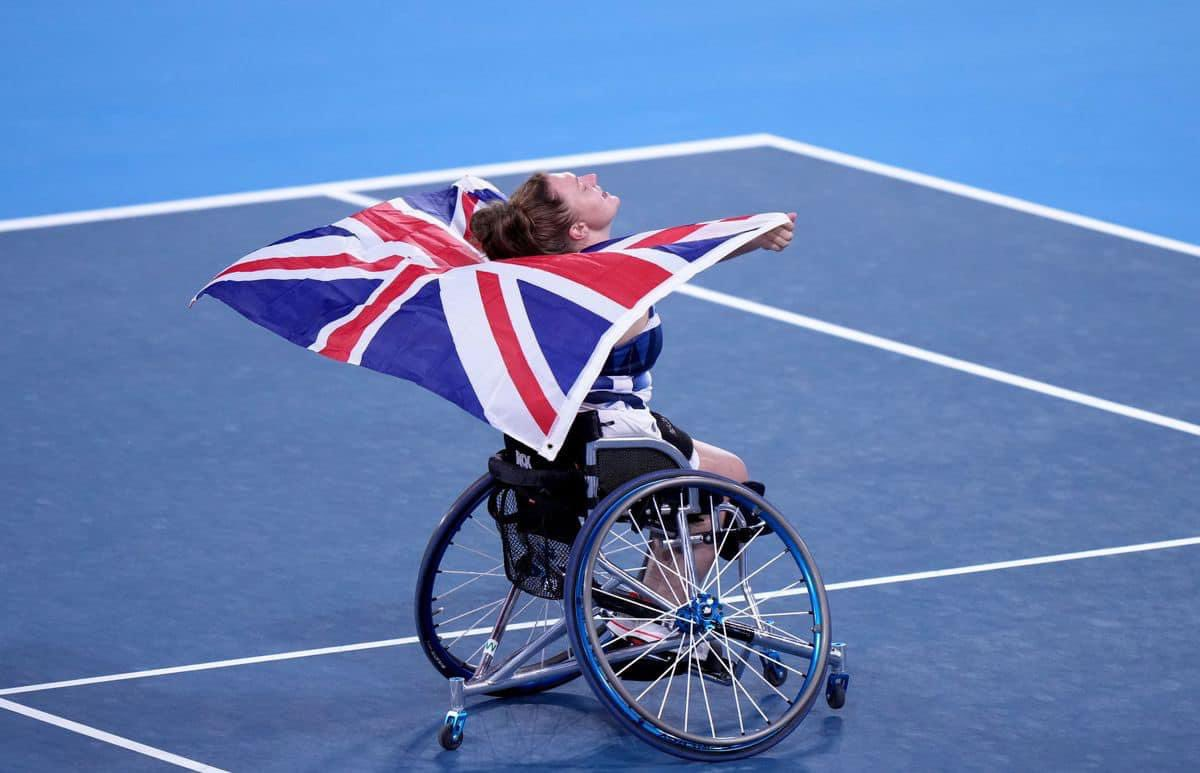 Former Get Kids Going! supported athlete Jordanne Whiley makes British Wheelchair Tennis history in Paralympics